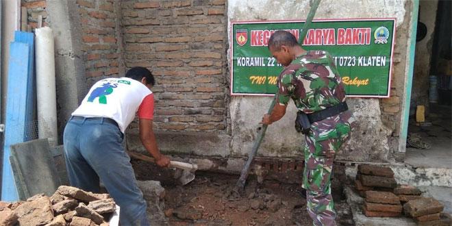 Babinsa Koramil 22 Wonosari Sukseskan Program Jambanisasi Di Wilayah Binaan