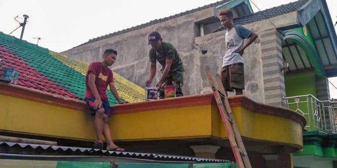 Berkat Serka Suripto, Kampung Gerdu Kini Lebih Mentereng