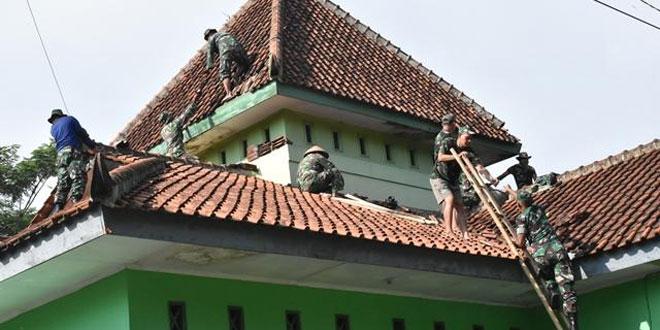 Kodim 0704/Banjarnegara Karya Bakti Di Gedung Juang 45