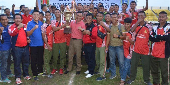 PSAD Kodam IV/Diponegoro Juara Divisi I PSSI Kota Semarang