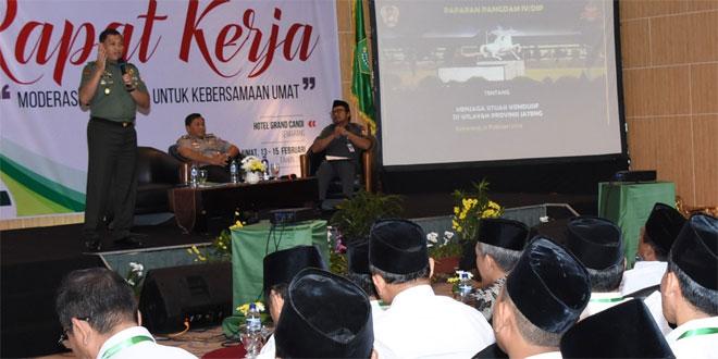 Kasdam IV : TNI-Polri Netral, Peserta Pemilu Juga Harus Sportif