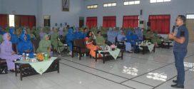 Dharma Pertiwi Koorcab Purwokerto Tingkatkan Derajat Kesehatan Anggota