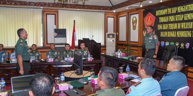 Ancaman Nonmiliter yang Membahayakan Keutuhan NKRI Menjadi Perhatian TNI