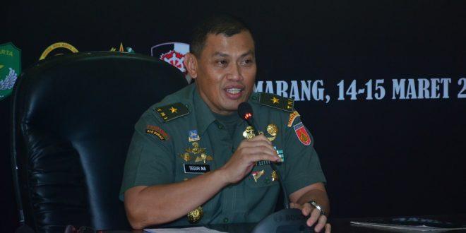 Kasdam IV/Diponegoro Tutup Rakor Rentinkon Kotama Ops TNI Wilayah Barat