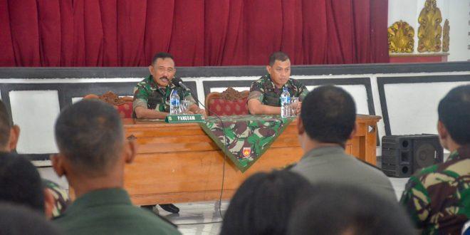 Pangdam IV Akan Tindak Tegas Oknum Percaloan Prajurit TNI AD