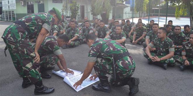 Warnai Minggu Militer Dengan Latihan