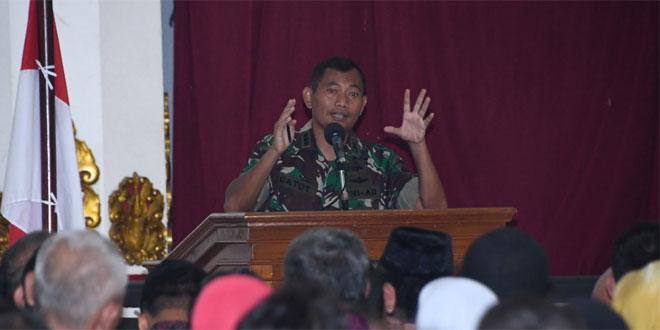 Pangdam IV/Diponegoro : Seleksi Calon Taruna/Taruni Akmil Tidak Dipungut Biaya Apapun