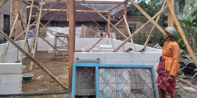 Kodim Brebes Rombak Kandang Ayam Jadi Rumah Bagi Janda Tua Taswi