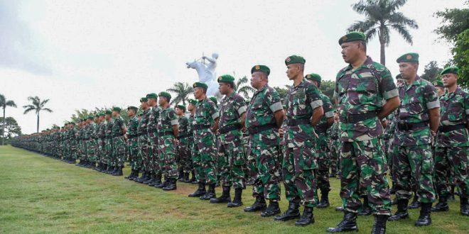 Jaga Stabilitas Keamanan, Kodam Laksanakan Apel Siaga Pemilu