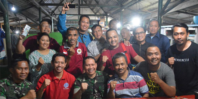 Danrem 074/Warastratama Ajak Wartawan Untuk Menjaga Kondusifitas Wilayah Surakarta Melalui Media Informasi