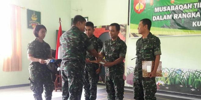 Meriahkan Ramadhan, Kudam IV/Diponegoro Gelar Lomba Qiroati dan Adzan