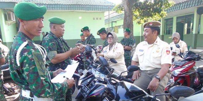 Kelengkapan Berkendara Wajib Bagi Anggota Kodim 0727 Karanganyar