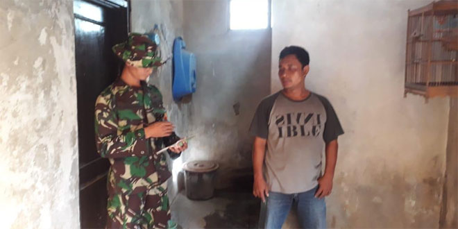 Marwanto Bersyukur Bersyukur Akan Dibuatkan Jamban Satgas TMMD Reg 105