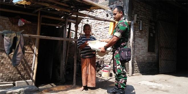 Babinsa Guwosari Koramil 18/Pajangan Ikut Aktif Dalam Kegiatan Jambanisasi Di Wilayah