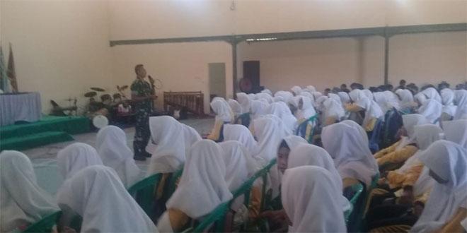 350 Pelajar Terima Materi Wawasan Kebangsaan dan Bela Negara
