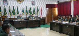 Makorem 071/Wijayakusuma di Wasrik Tim Itdam IV/Diponegoro