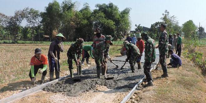 Bakti TNI Untuk Pembangunan Daerah Pedesaan