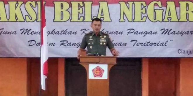 Korem 071/Wk Gelar Aksi Bela Negara Melalui Wijaya Kusuma Nutrition