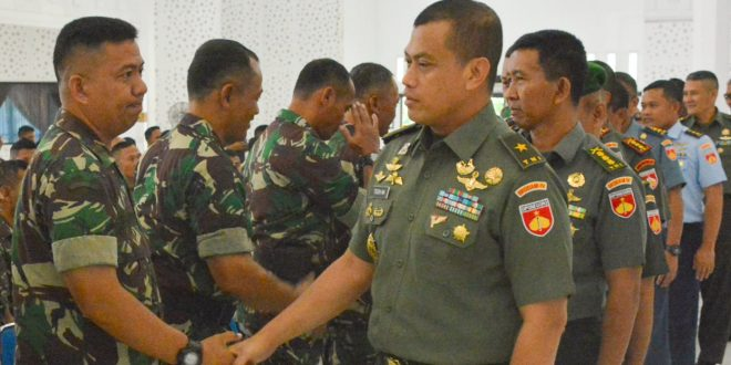 Kasdam IV/Diponegoro Berangkatkan Satgas Apter ke Maluku dan Papua