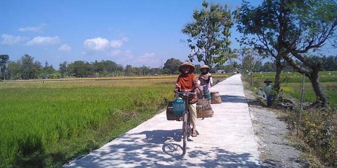 TMMD Kodim Klaten Berdampak Meningkatnya Ekonomi Pedesaan