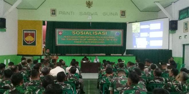 Kodim 0706/Temanggung Gelar Sosialisasi P4GN