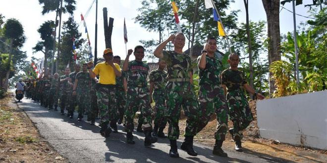 Minggu Militer, Prajurit Korem Latihan Ketahanan Mars