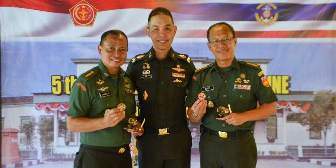 Kakesdam IV dan Karumkit RST Magelang Menjadi Anggota Delegasi 5th Thainesia Militart Medicine Meeting