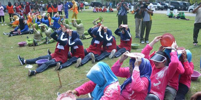 Ratusan Istri Tentara Turut Semarakkan HUT Ke-58 Korem 071/Wijayakusuma