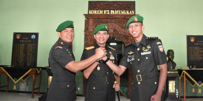 Kolonel Arh Zaenuddin , Dandim Yogya Pertama Berpangkat Kolonel