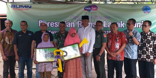 2 Rumah Warga Borobudur Selesai Direhab