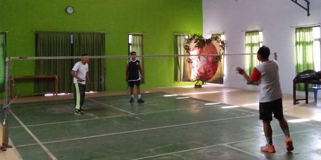 Koramil Srumbung : Olahraga Untuk Menjaga Kebugaran