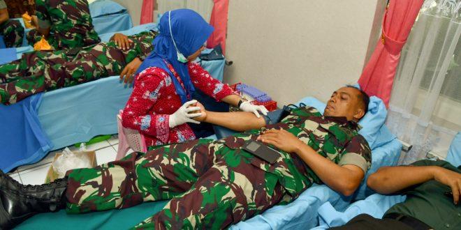 Setetes Darah Prajurit Kodam IV Selamatkan Jiwa Seseorang