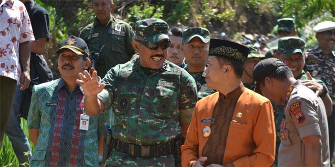 Wasev TMMD Kodim 0719/Jepara, Pangdam Susuri Medan Sulit dan Ekstrim