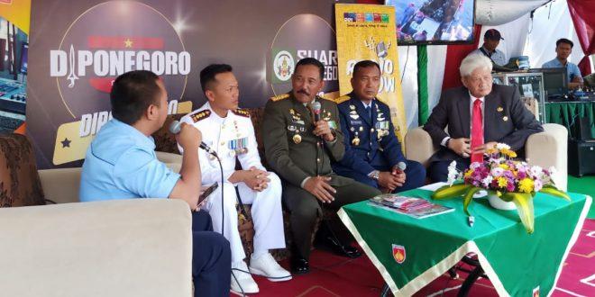 Di Usia ke 74, Tugas TNI Tidak Lepas Dari Perubahan Lingkungan Strategis