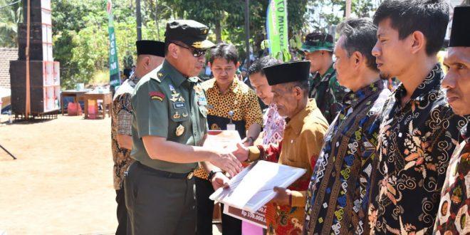 TMMD Reg 106 Kodam IV Dibuka Serentak di 4 Wilayah