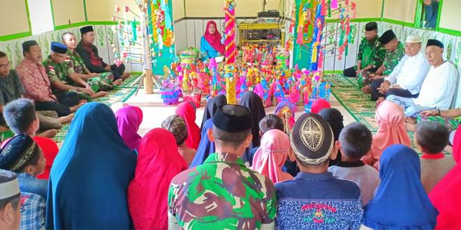 Satgas Yonif 406/CK Pos Mindiptana Hadiri Peringatan Maulid Nabi Muhammad SAW di tapal Batas RI – PNG