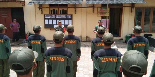 Bati Tuud Koramil 05 Candiroto Beri Pembekalan Dan Pelatihan Kapasitas Linmas