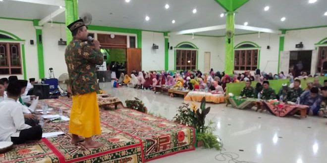 Satgas Yonif 406/CK pos Kout hadiri acara Maulid Nabi Muhammmad SAW di perbatasan