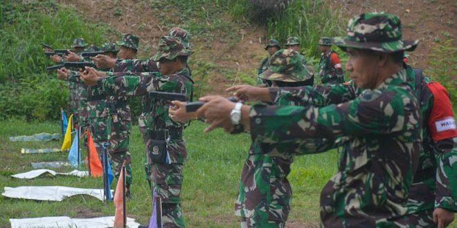 Tingkatkan Kemampuan Prajurit, Korem 071/Wijayakusuma Gelar Latihan Menembak