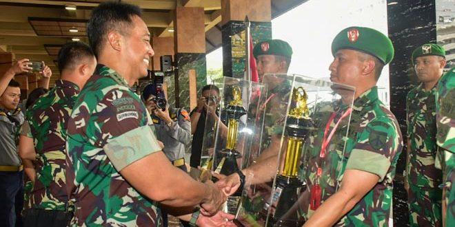 Kodim 0733 BS/Smg Raih Juara-II Lomba Binter TNI AD