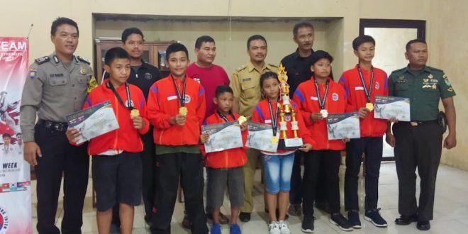 Putra Anggota Korem 071/Wk Harumkan Indonesia Lewat Ajang Pugnator Badung Sport Tourism Taekwondo International Championship