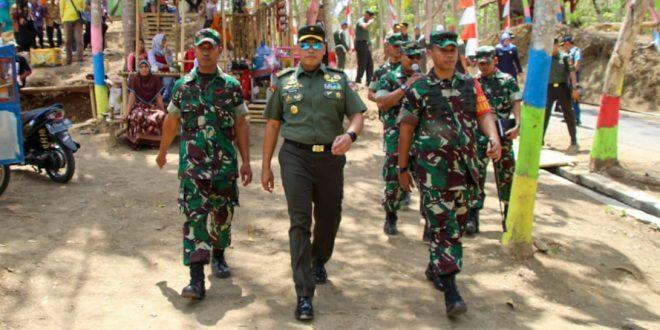 Kasdam IV Diponegoro Tinjau Progres Program TMMD Reguler Ke 106 Kodim 0703/Cilacap