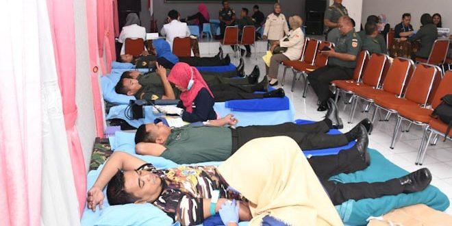 Sambut Hari Juang TNI AD, Kodam IV Gelar Donor Darah