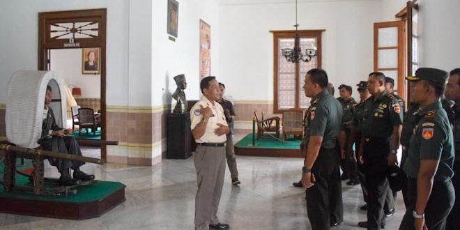 Sambut Hari Juang TNI-AD, Kodim 0734 Napak Tilas Perjuangan di Kota Yogyakarta