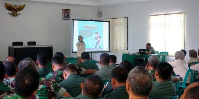 Cegah Penyakit Mematikan, Kodim 0734/Yogyakarta Laksanakan Penyuluhan Kesehatan