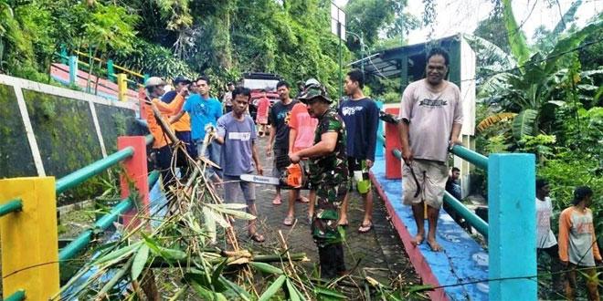 Karya Bhakti Bukti Sinergisitas Koramil Bersama Masyarakat, Dalam Mewujudkan Kemanunggalan TNI Rakyat