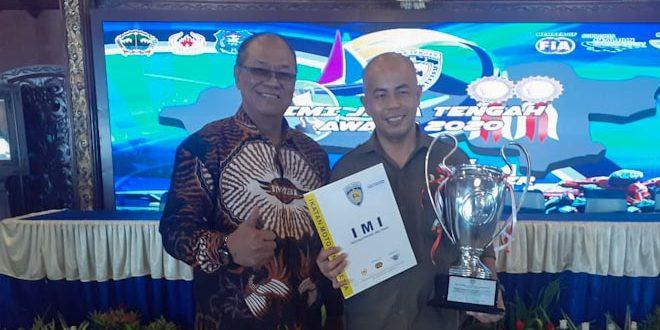 Danrem 071/Wijayakusuma Terima Penghargaan IMI Jateng Award 2020