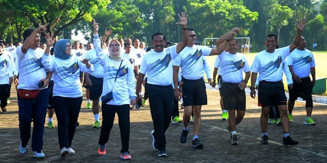Pangdam IV : Olahraga Bersama Untuk Sehat dan Menjalin Silahturahmi