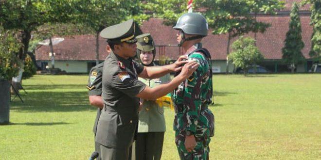 399 Prajurit Mengikuti Pendidikan Pembentukan Bintara