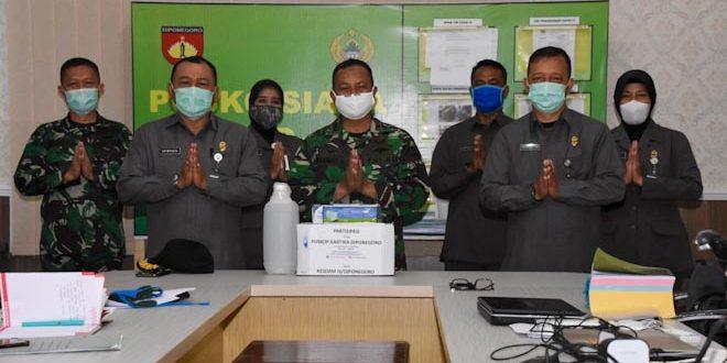 Kesdam IV/Diponegoro Dapat Dukungan Masker Dan Sarung Tangan